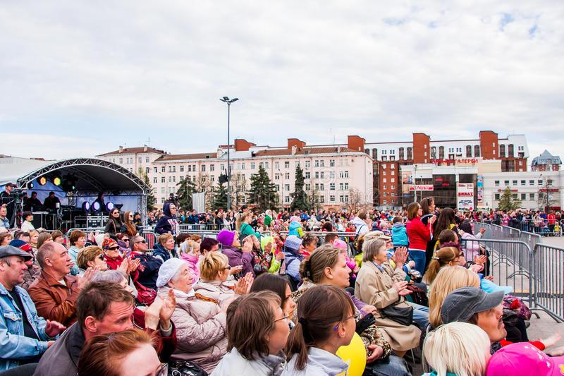 Un concert en Russie