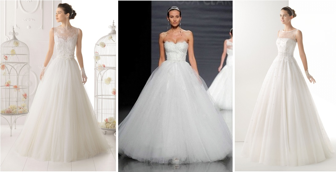 Les robes de mariées qui me font rêver