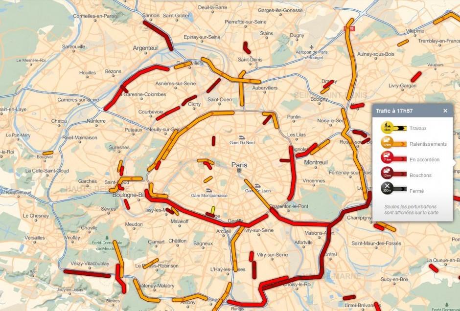 Envie d'un itinéraire bien établi? Utilisez Mappy.