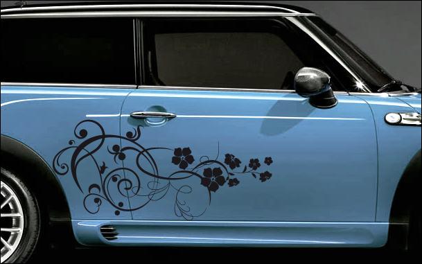 Les stickers pour automobiles et motos, une décoration peu chère et efficace