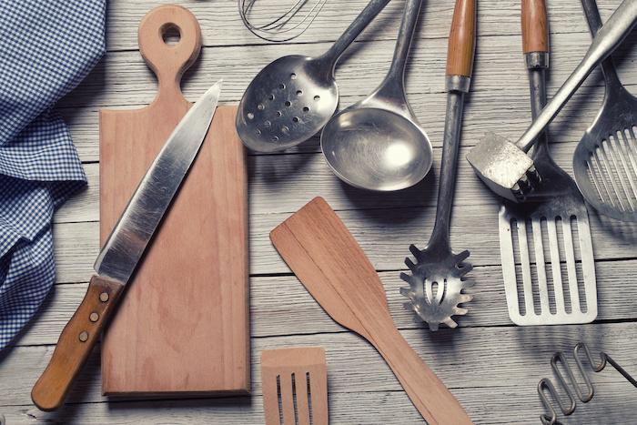 Quels sont les ustensiles de cuisine?