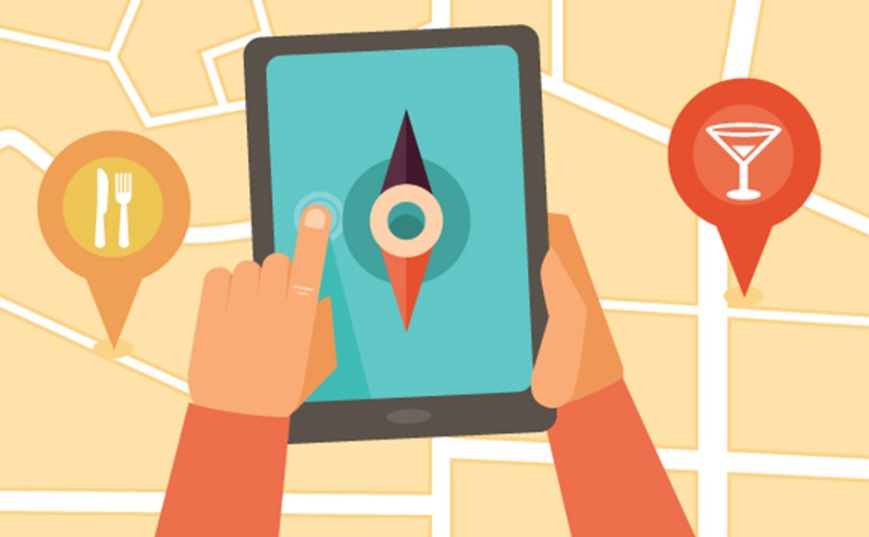 Visibilité sur l'internet, Google et géolocalisation