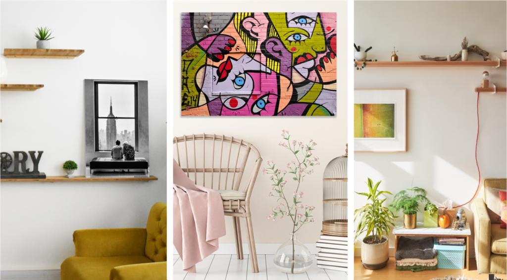 5 conseils pour décorer un mur vide avec un tableau