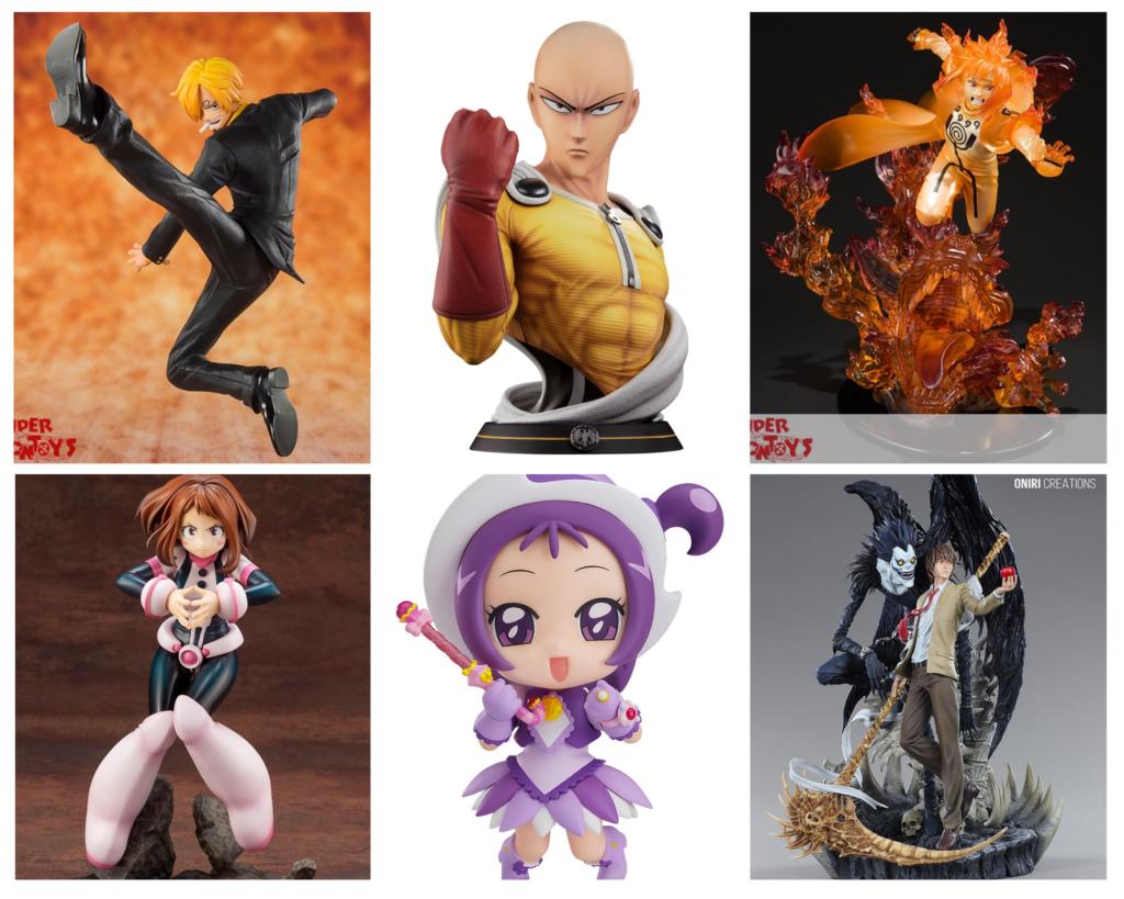 Un guide pour acheter des cadeaux pour les fans d'anime