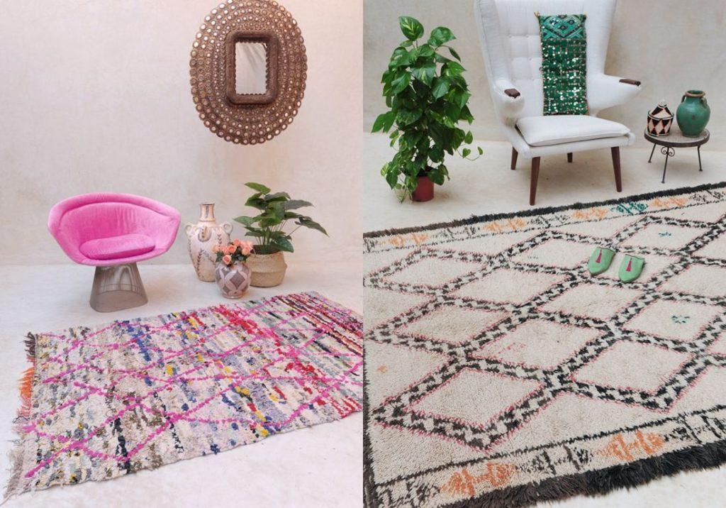 Tapis Beni Ouarain : 03 choses à savoir sur ce tapis berbère