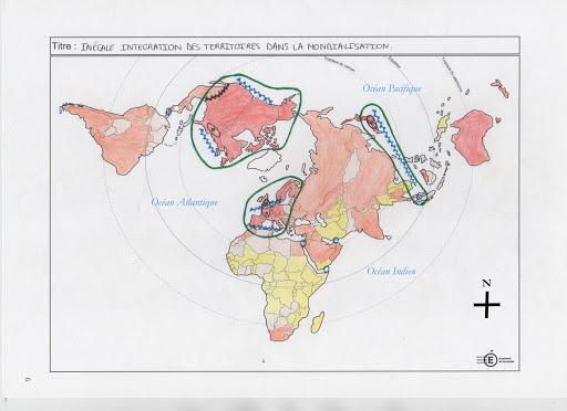 La carte du monde n'est pas qu'une question de géographie