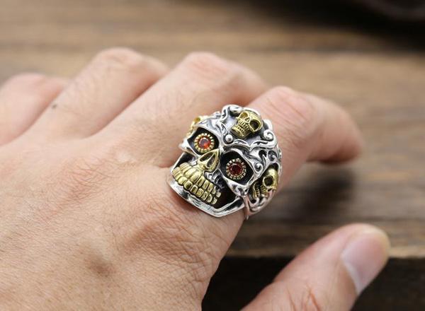 Pourquoi Les Gens Portent Des Bijoux Tête de Mort