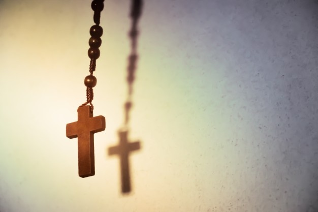 La religion et la croix chrétienne