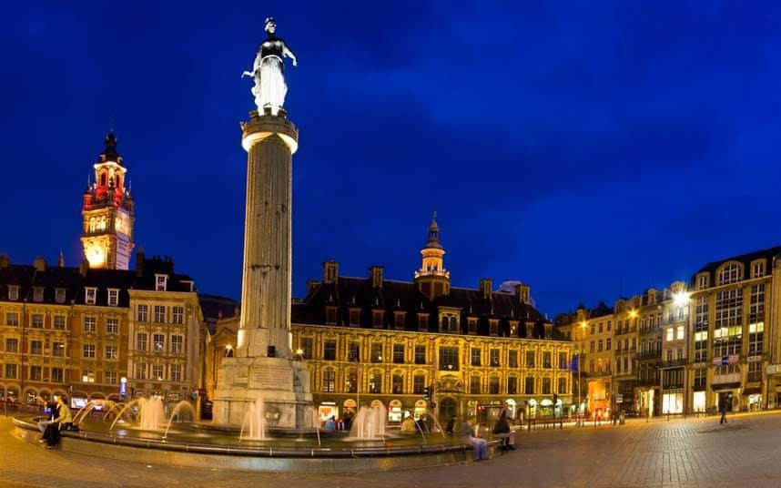 France: guide de voyage économique à Lille