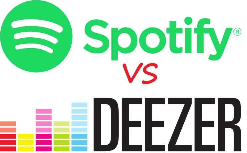 Deezer vs Spotify: Comparaison côte à côte