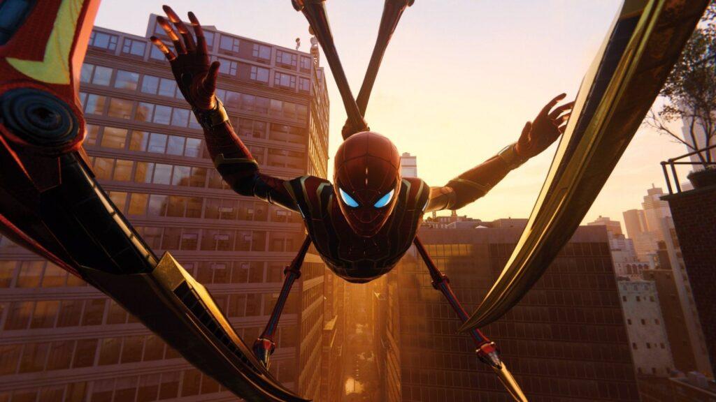 La mode à la Spiderman