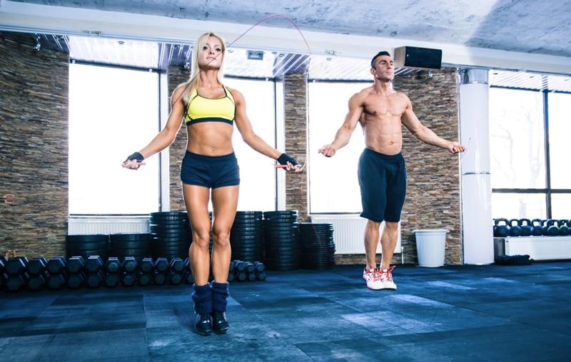 Corde à sauter, corde du fitness, corde de cross training, corde de Freestyle