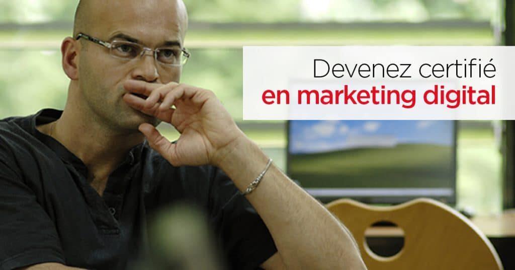 Meilleurs programmes de certification en ligne pour les spécialistes du marketing numérique
