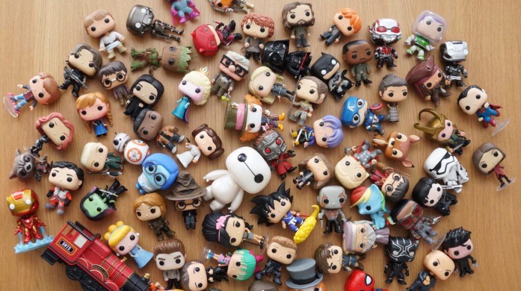 Les meilleures figurines pop