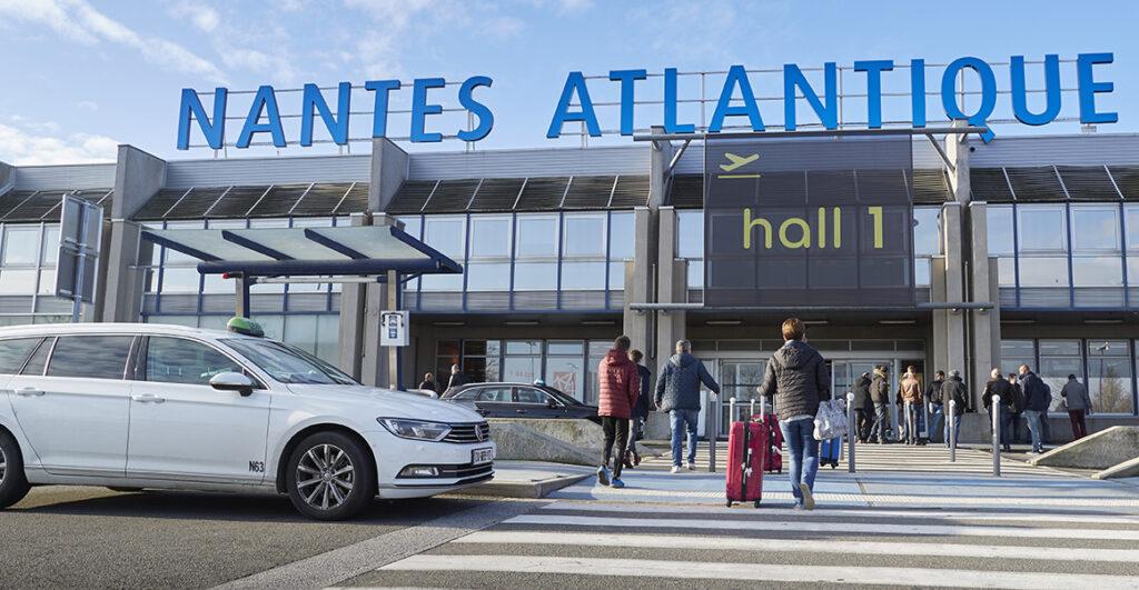 Faire la navette de l'aéroport de Nantes