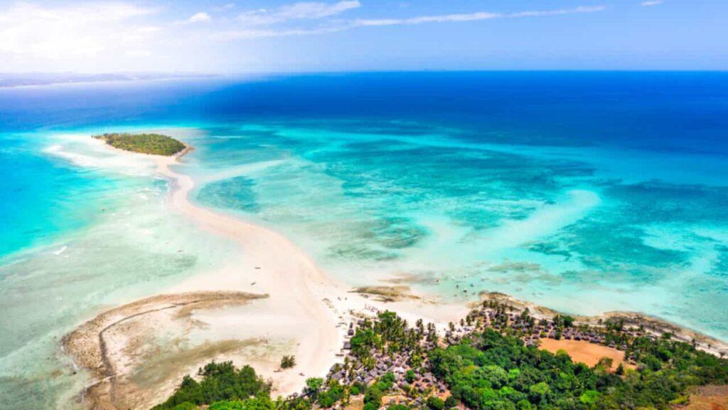 Explorez l'île de Madagascar lors de votre parcours au trapèze des Mascareignes