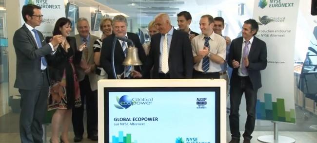 EcoPower Global a eu un succès auprès de Jean-Marie Santander