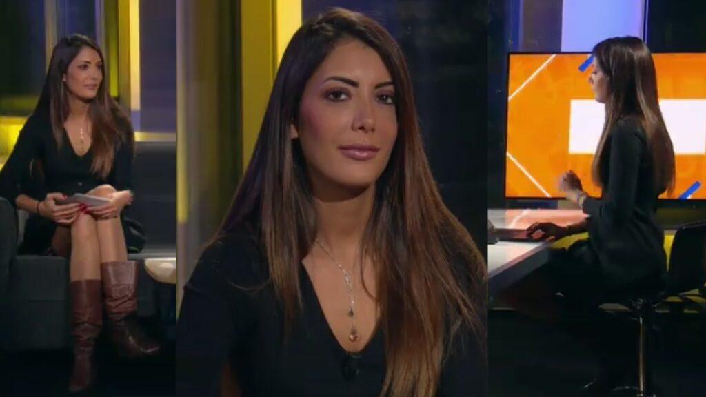 Virgilia Hess, une belle présentatrice météo