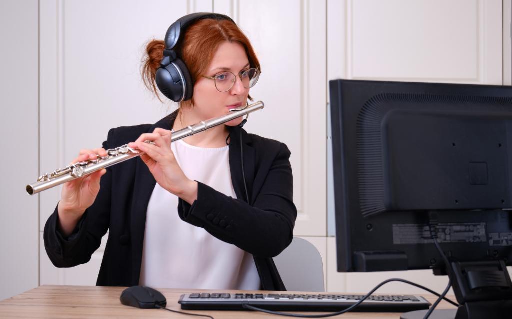 Apprendre la flûte en ligne : par où commencer