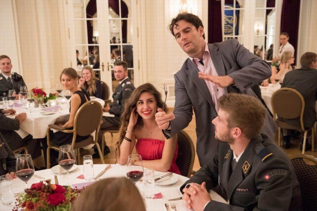 Christophe : le magicien de table à table