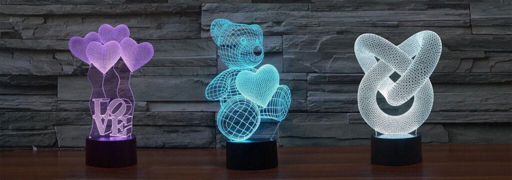 Qu'est-ce qu'une lampe LED 3D ?