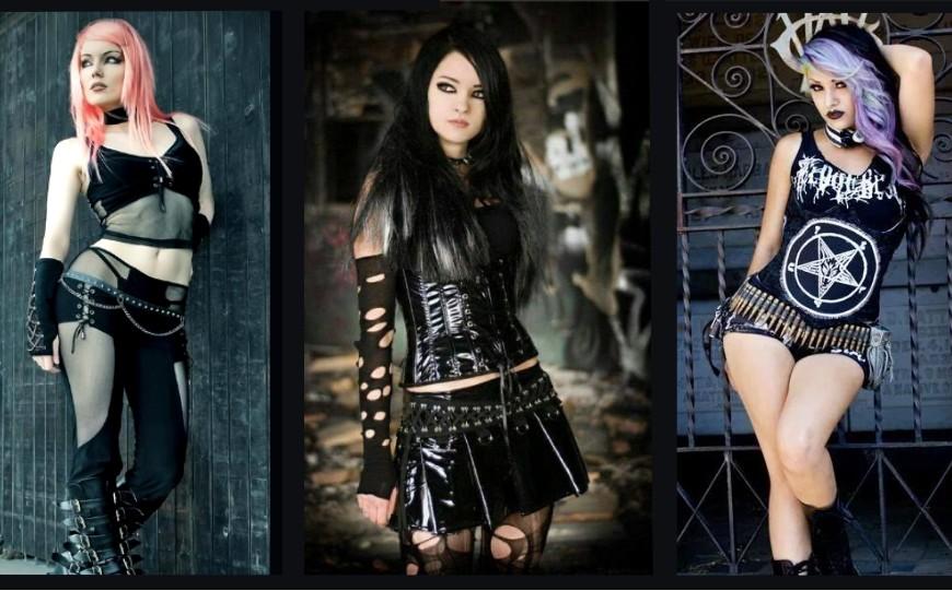 4 façons d'obtenir le look de fille gothique