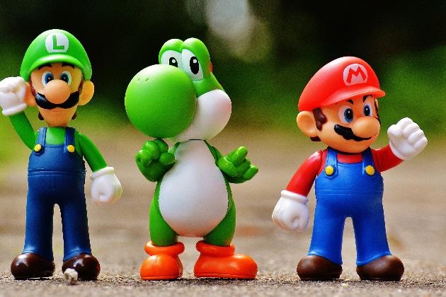 Les meilleurs jouets Mario