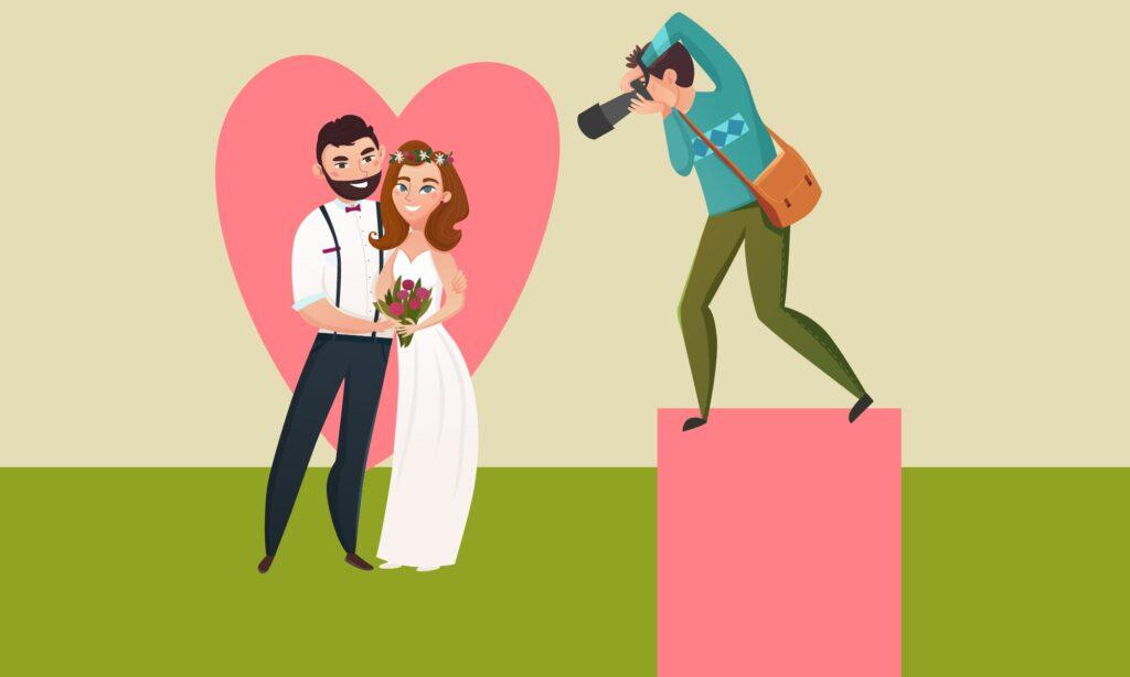 4 idées de cadrage pour faire de belles photos de mariage